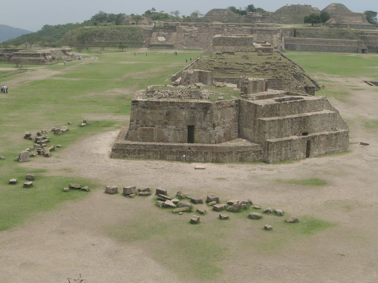 Building J, Monte Alban (Mexico)