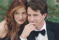 Debra Messing and Dermot Mulroney Photo from The Wedding Date