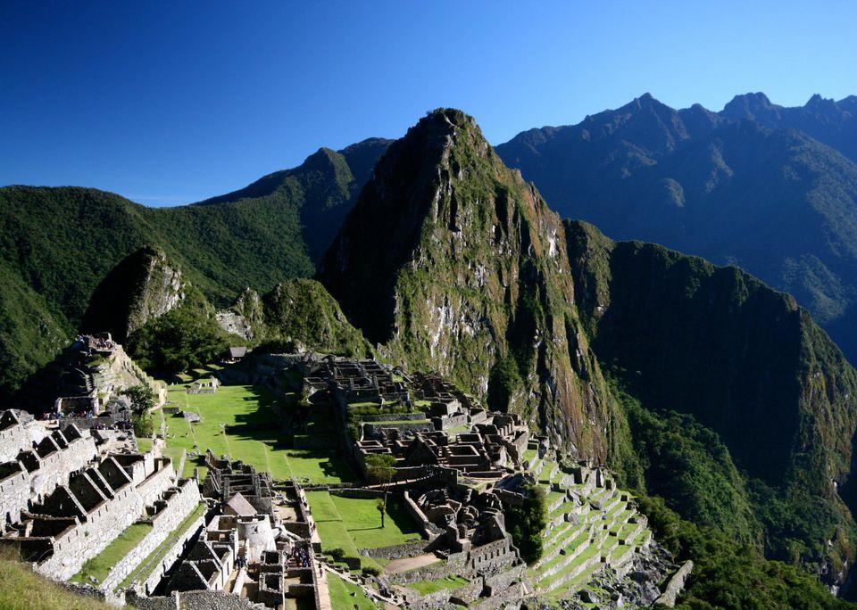 Machu Picchu at 7,972 feet altitude