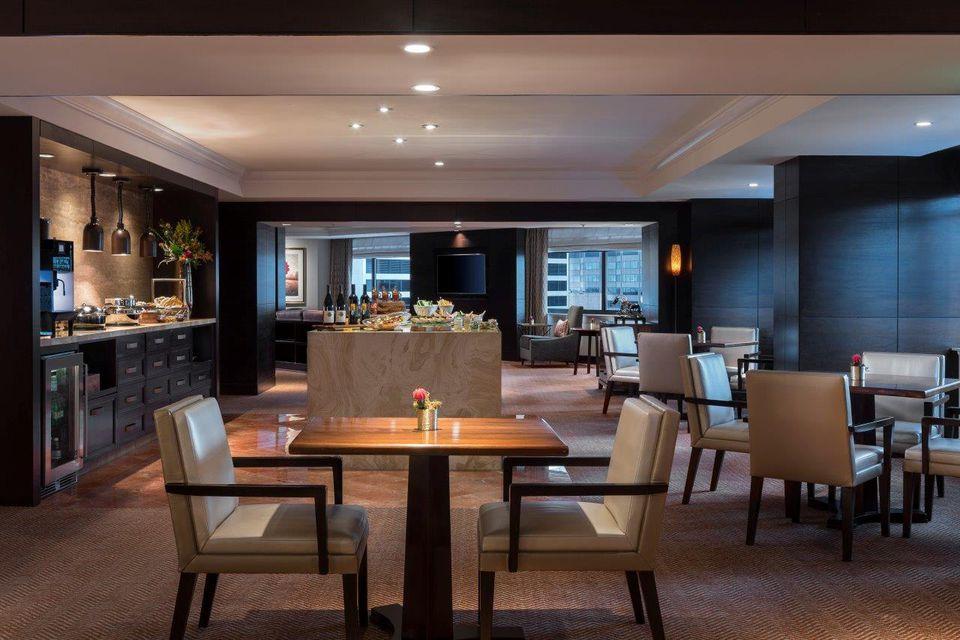 Club Lounge in Ritz-Carlton, Denver
