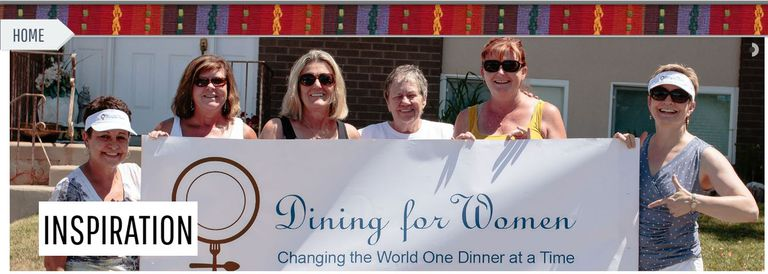 Dining for Women is a giving circle.