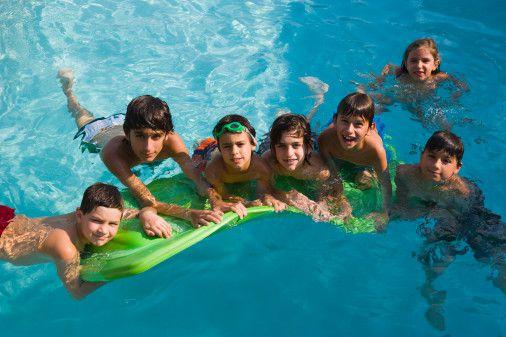 Pool and Teens