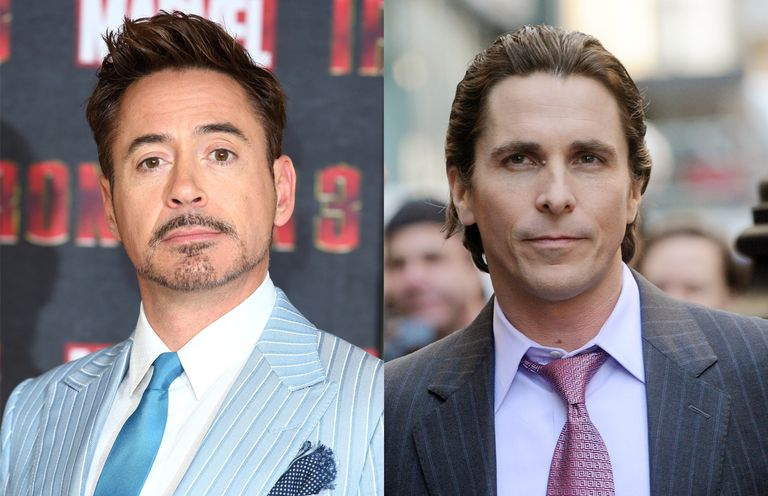 Robert Downey Jr. and Christian Bale