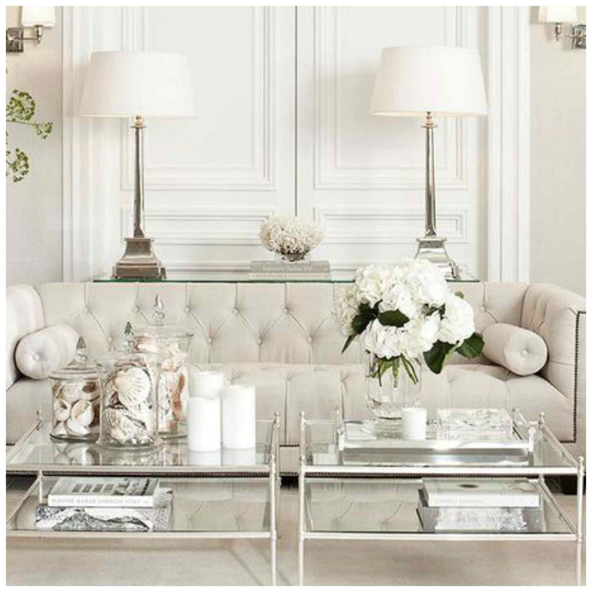 neutral living room design.  How To Decorate With Neutrals