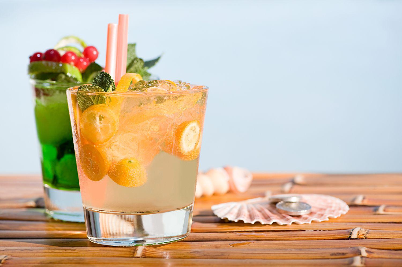 Kumquat-Ginger Caipirinha Cocktail Recipe