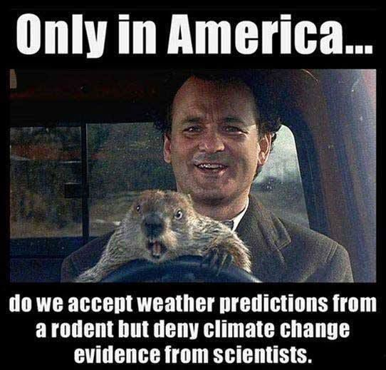 Groungdhog Day and Climate Change