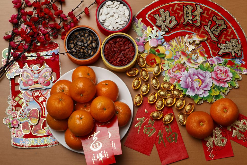 chinese new year decorations - Chinese New Year Traditions