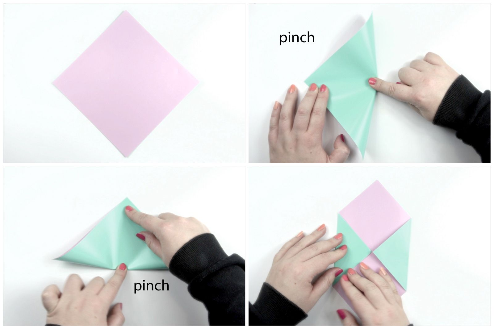 How to Make an Easy Origami Envelope | 1066x1600