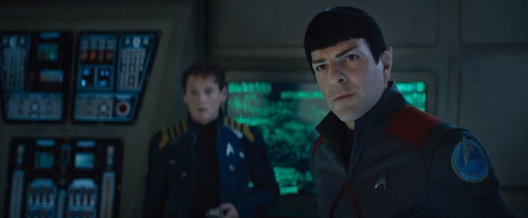 Spock and Chevok in uniform