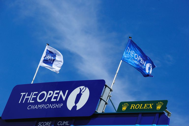 Open Championship flags