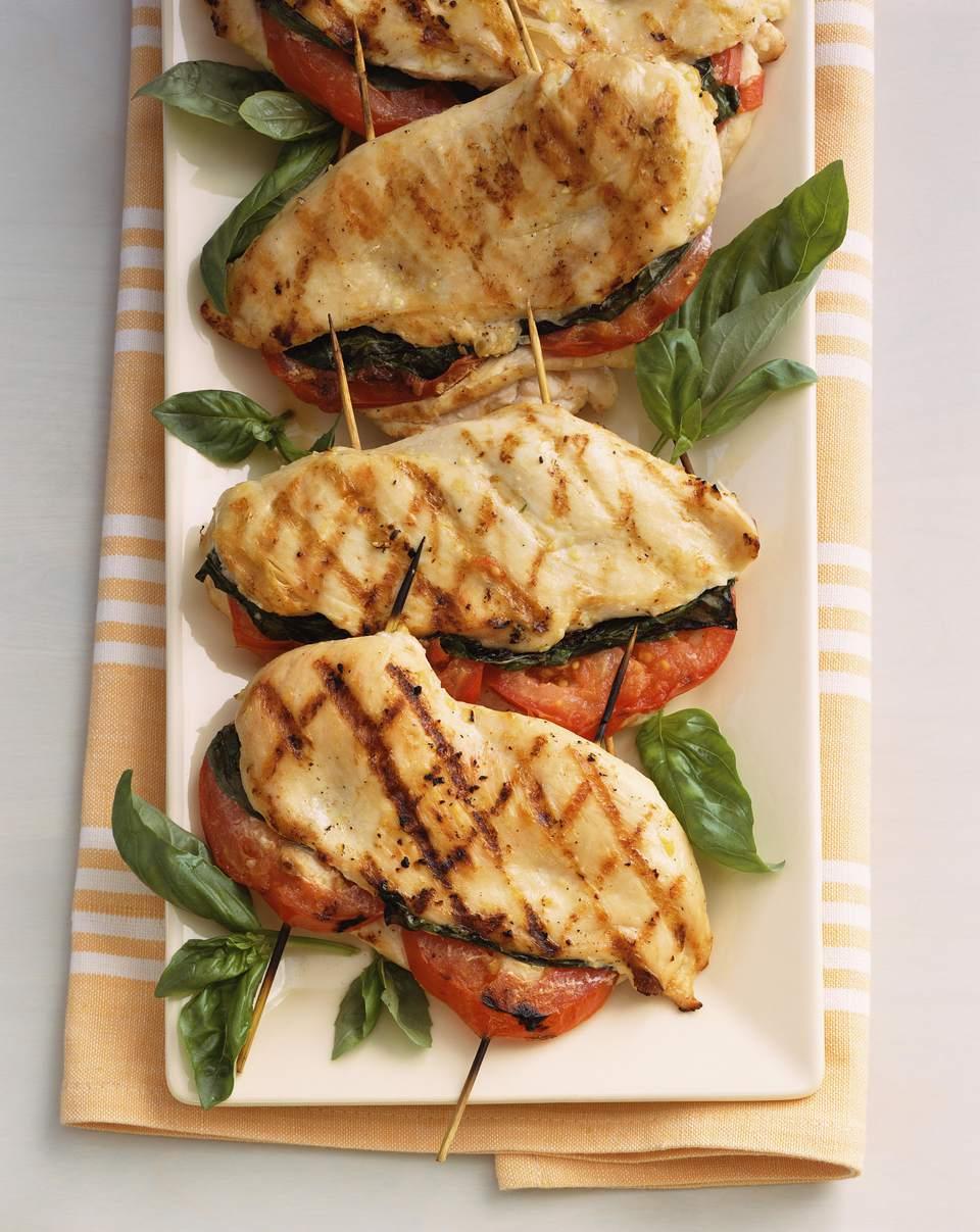 Basil-Tomato Chicken Breasts