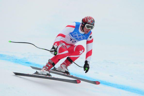 2010 Olympics Downhill Skier Didier Defago