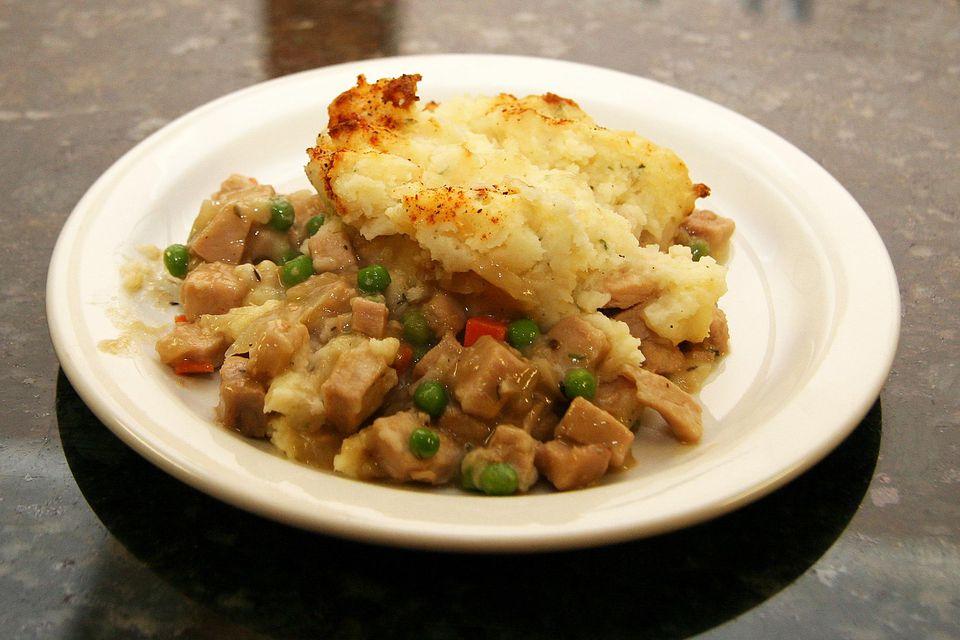 Pork and Potato Casserole