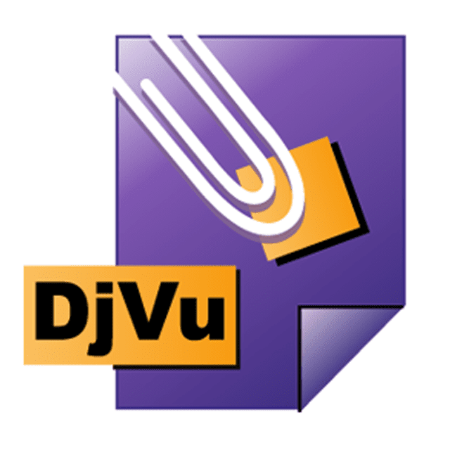 Picture of the DjVu file icon