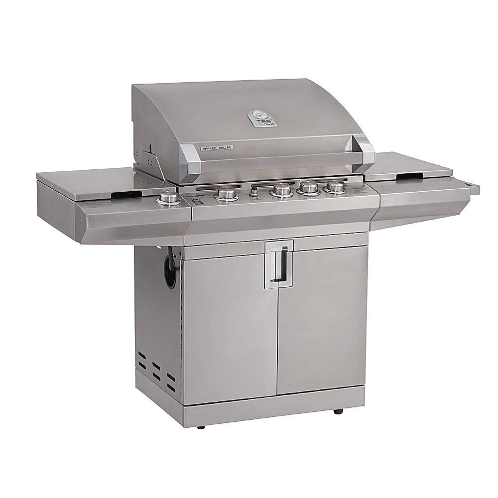 Master forge 5 burner island grill reviews - Char Broil Tec Series Triple Burner Model 463268307 Gas Grill