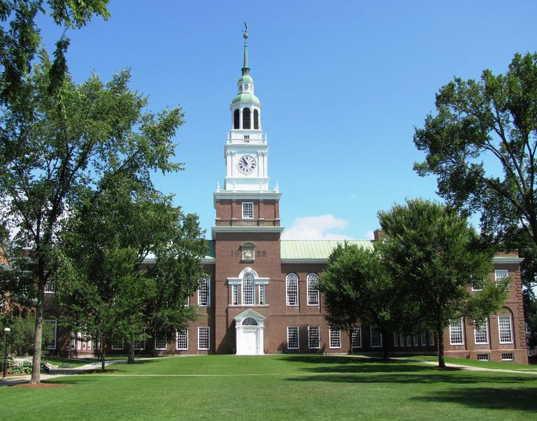 Baker Library and Tower at Dartmouth University