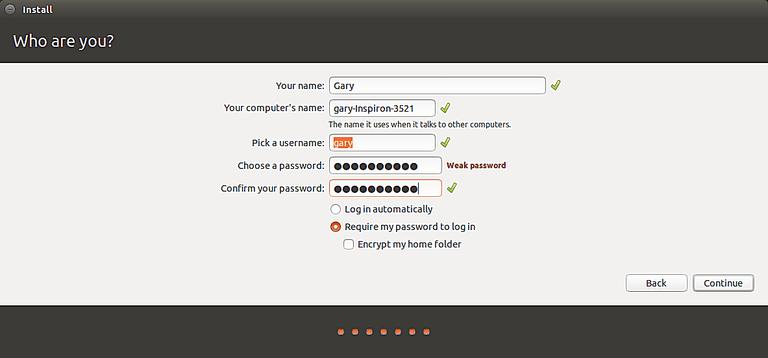 Encrypt My Home Folder