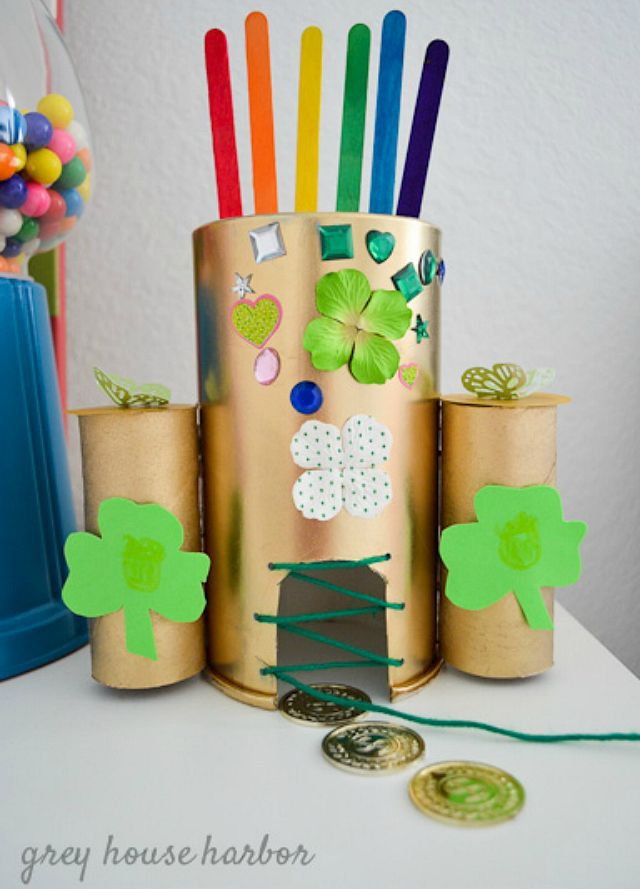 leprechaun trap projects for kids