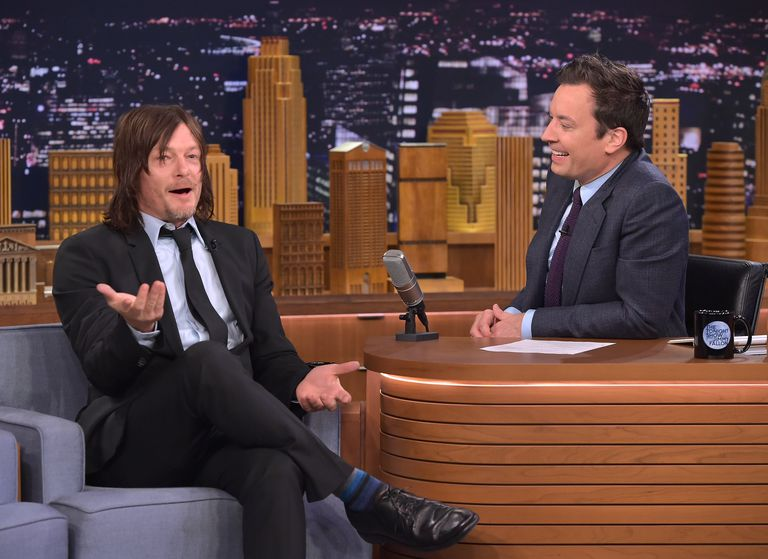 The Walking Dead's Norman Reedus on 'The Tonight Show'