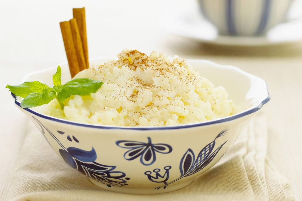 Old Fashioned Rice Pudding Without Raisins
