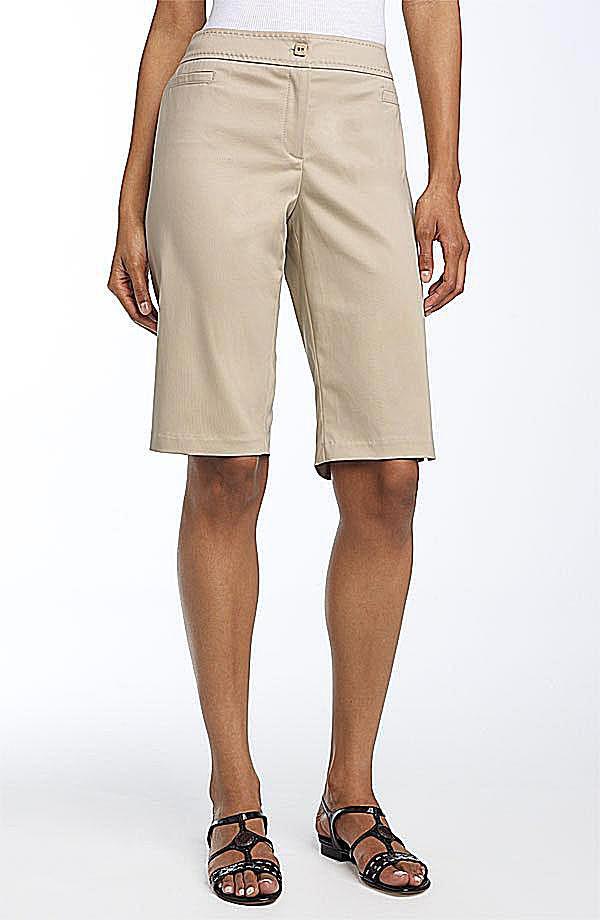 Claudia Ev Bermuda Shorts