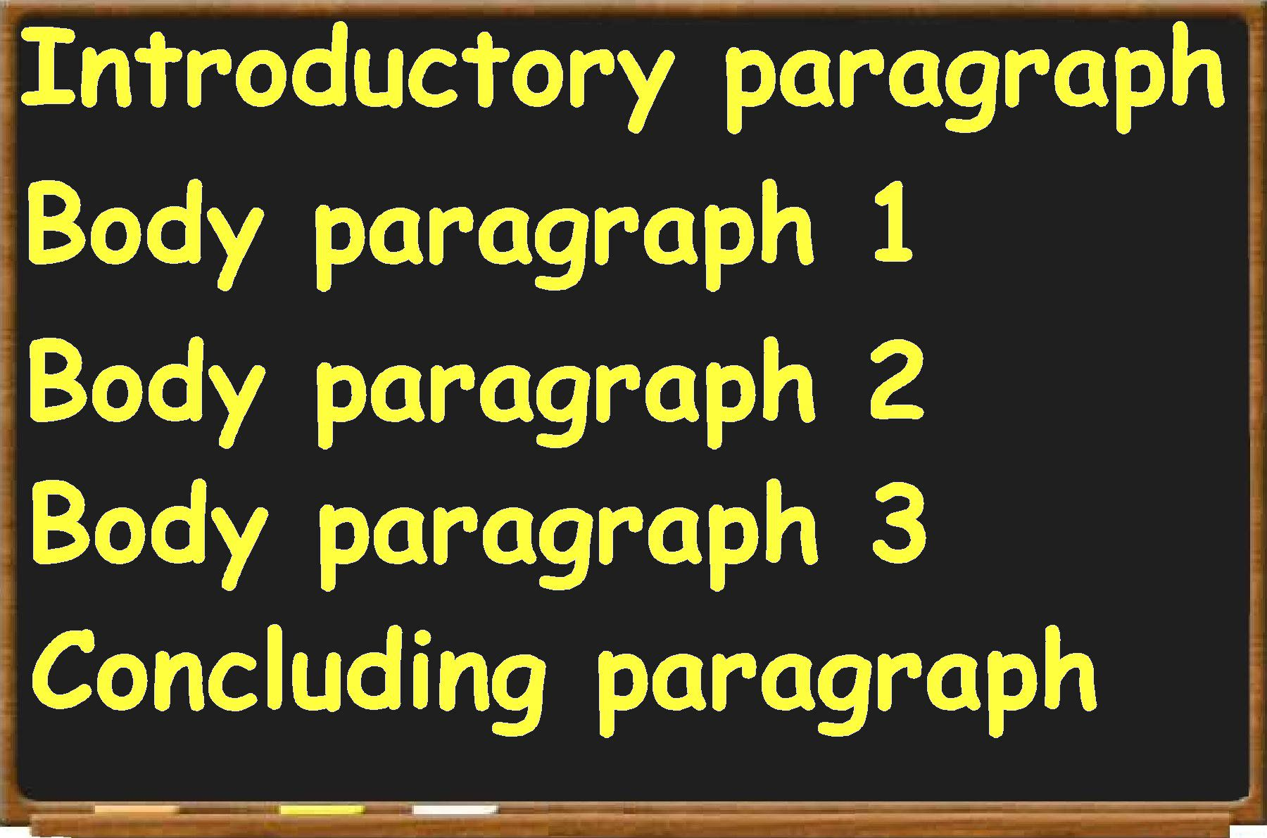 define five paragraph essay structure