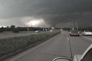 Tornado ahead, Oklahoma city