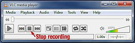 how to make a screen video using vlc