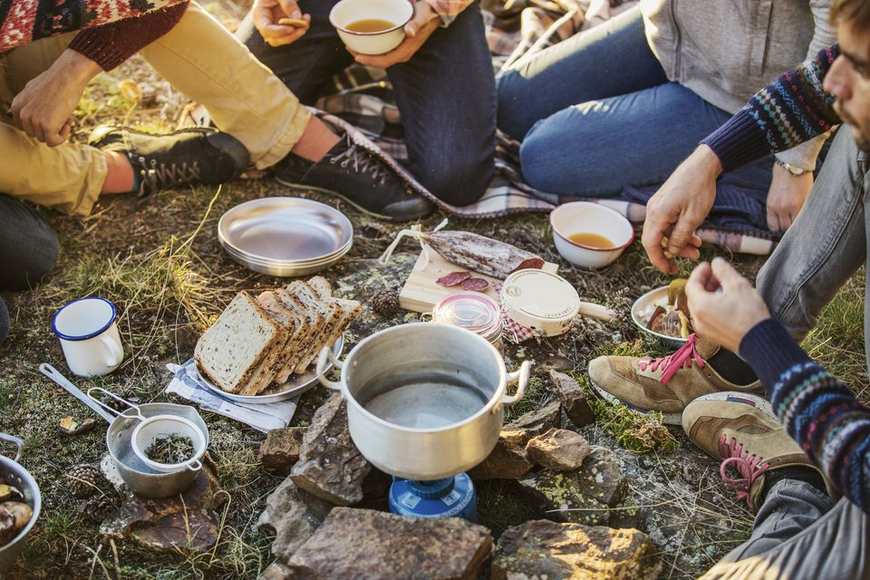 Cooking at the campground is simple and delicious with a few camping food essentials.