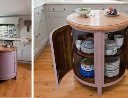Small Round Kitchen Table Apartment Therapy