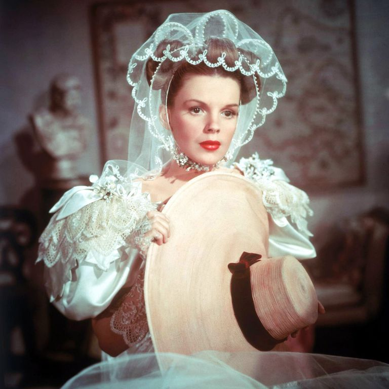 "Judy Garland, as Esther Smith, in ""Meet Me In St Louis,"" 1944."