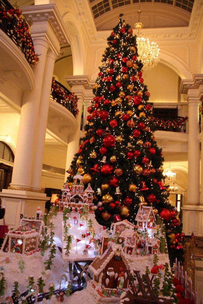 shanghai waldorf-astoria christmas