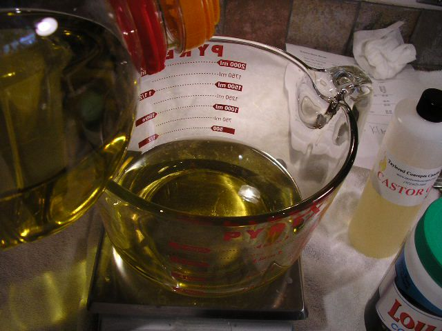 Measure and Melt Your Oils