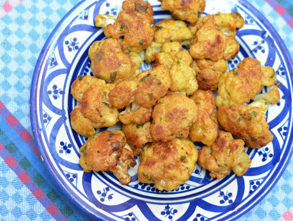 Moroccan Fried Cauliflower