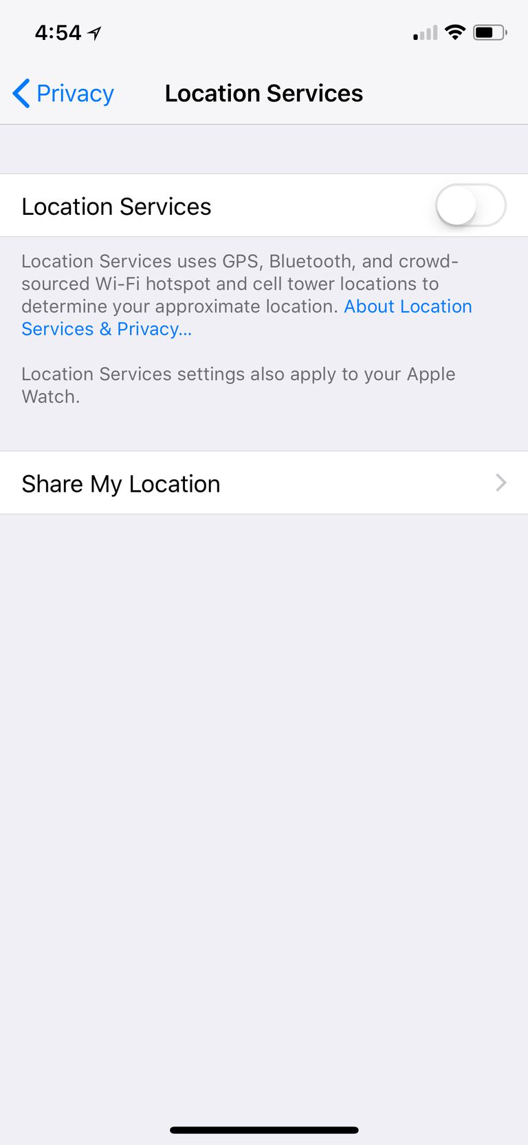 how to turn off location on iphone how to turn location services on your iphone or android 20397