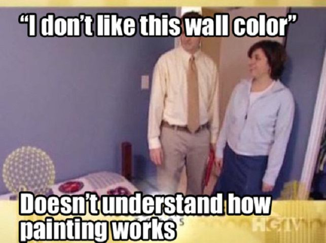 Fun Couple Meme : Let's keep it real with these funny hgtv memes