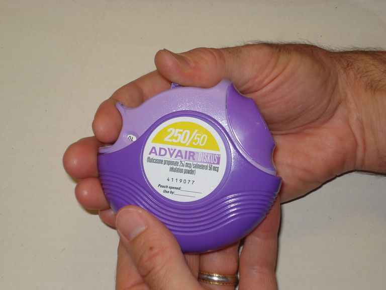 Advair Diskus for the treatment of asthma.