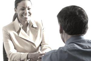 Businesswoman in Interview