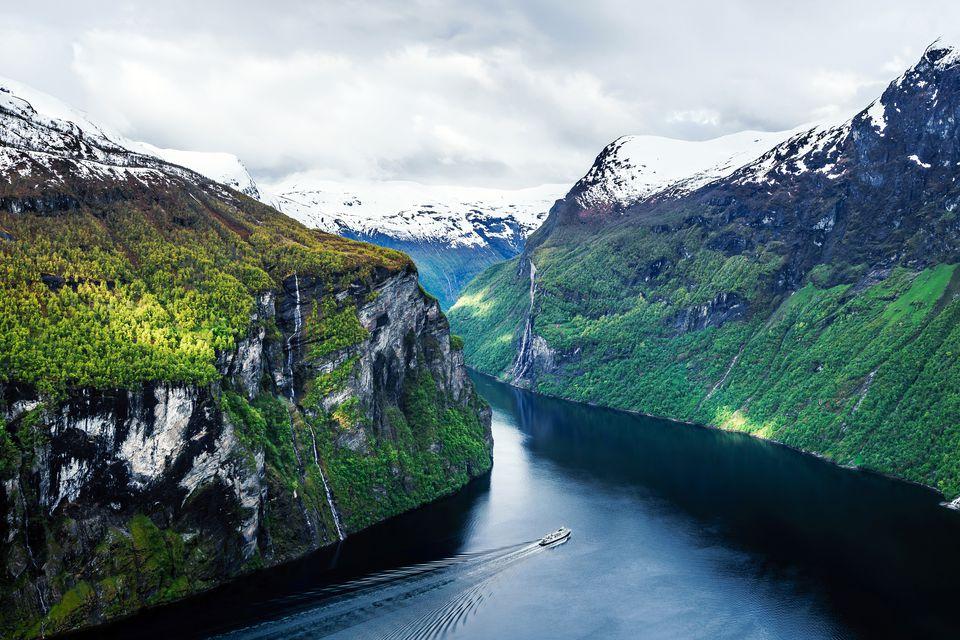 Geirangerfjord, Norway, Europe