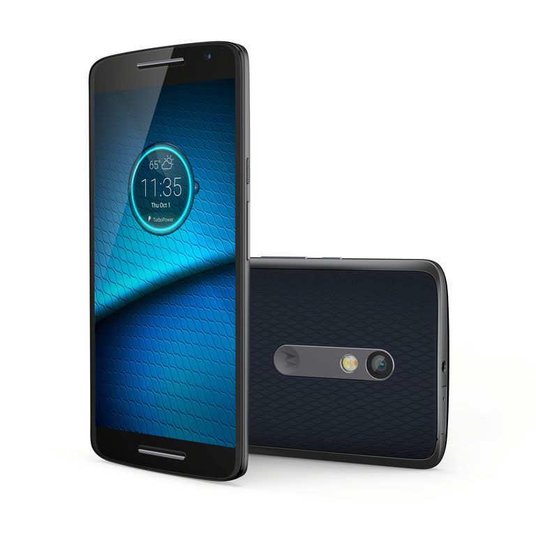 Droid Maxx 2: front and back