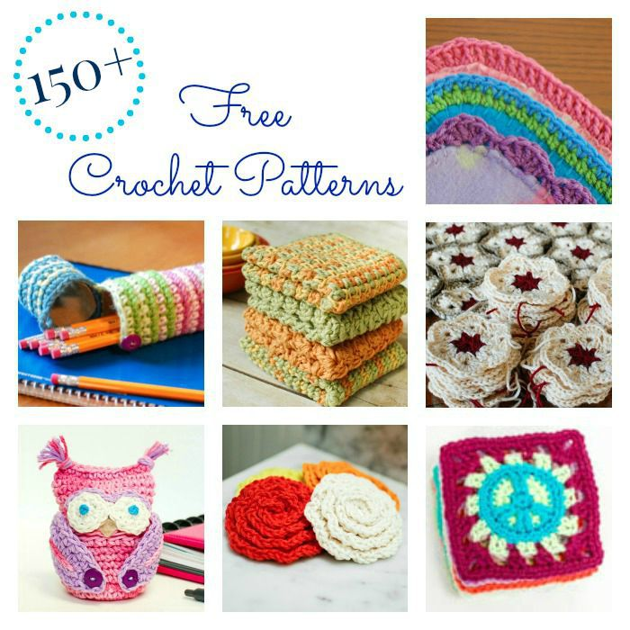 150+ Free Crochet Patterns by Petals to Picots