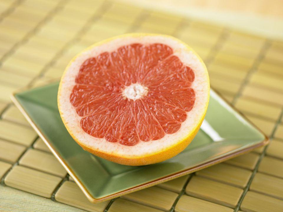 Pink Grapefruit Half