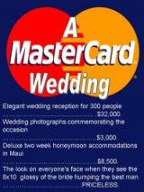 MasterCard Wedding