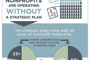 Infographic for the Nonprofit Leadership Report