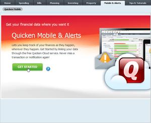 Quicken Mobile App