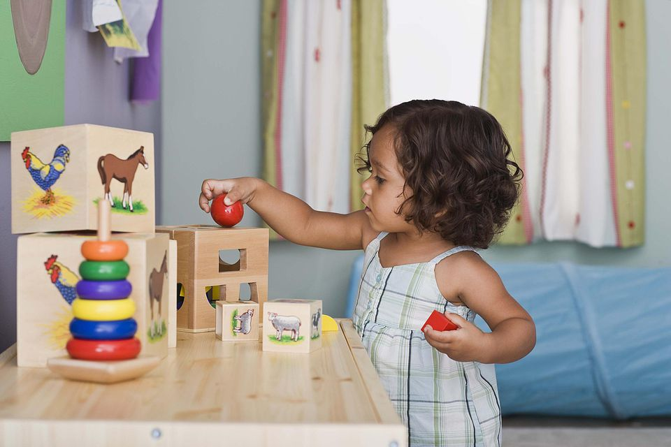 Toddler With Toys Kids Activities