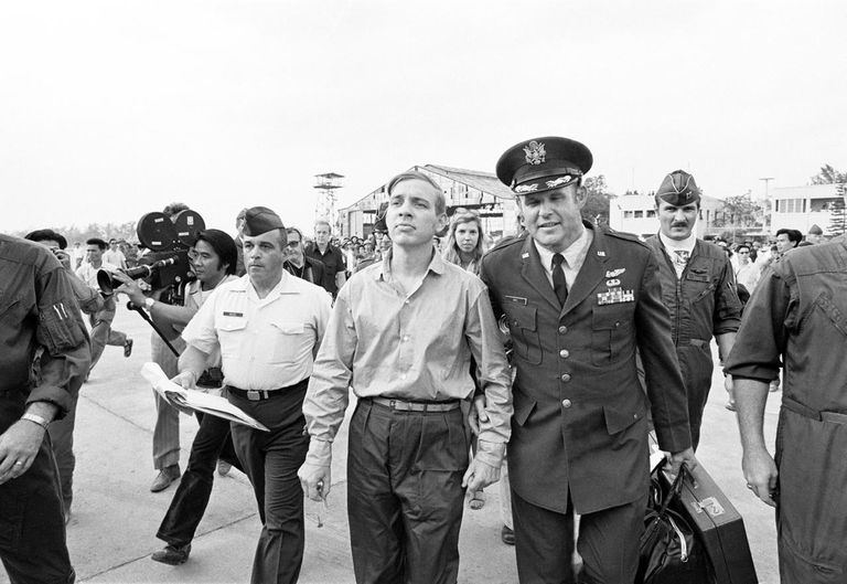 Last American POW Released In Vietnam