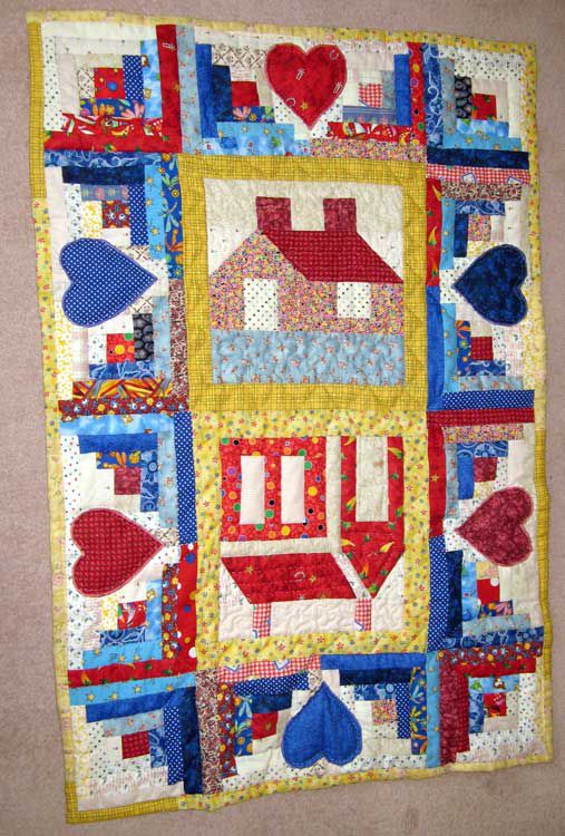 Log Cabin Quilts Photo Gallery and Layout Tips : log cabin quilt block layouts - Adamdwight.com
