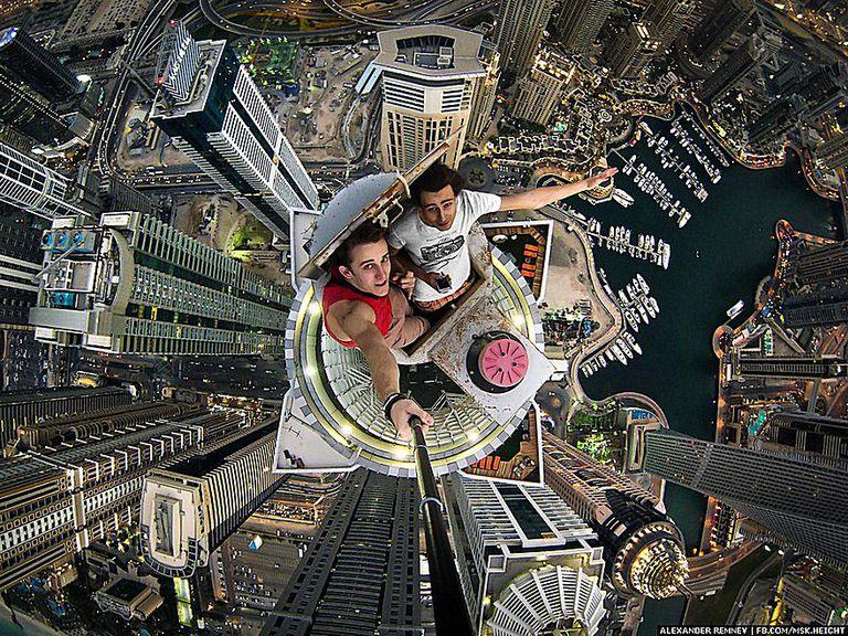 Dubai selfie