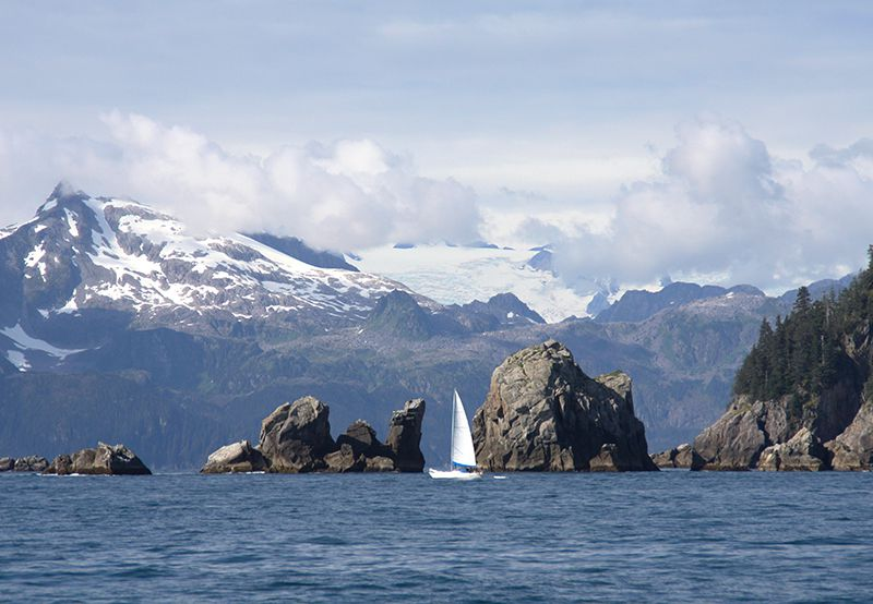 Picture of Kenai Fjords National Park Cruise Scenery ©Angela M. Brown